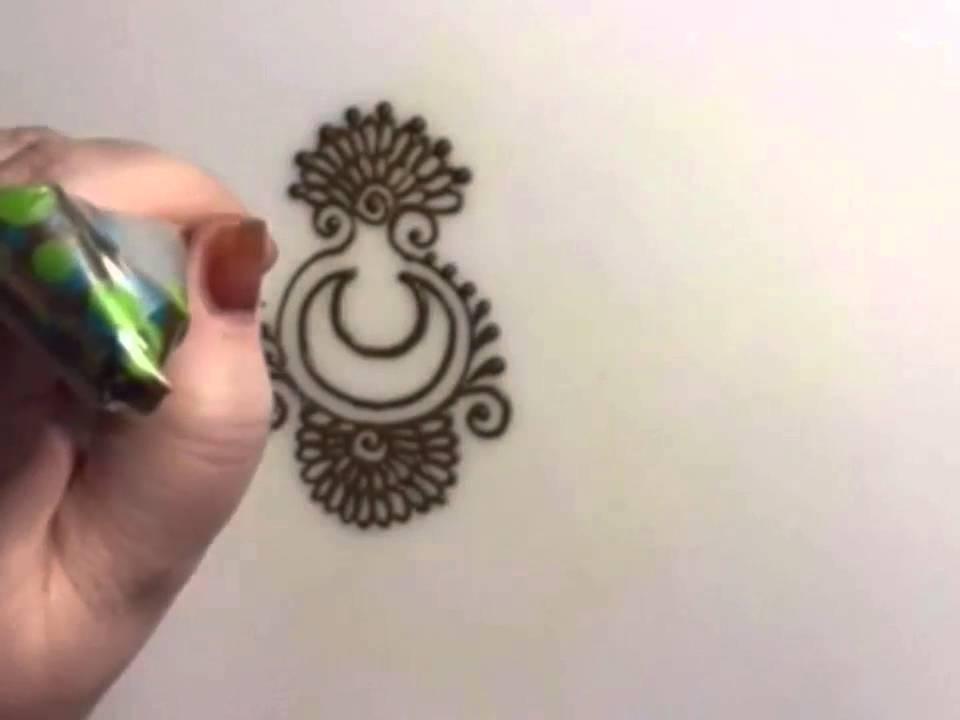 Moon Henna Design Youtube