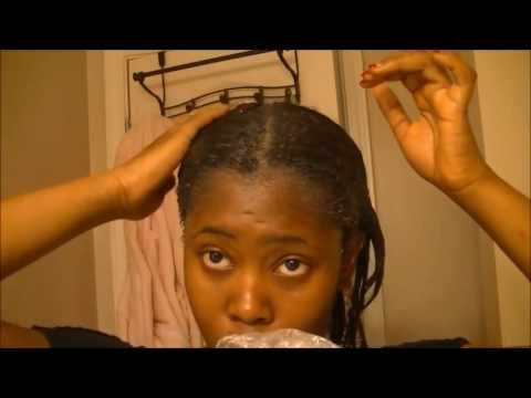 How I Deep Condition My Hair W/Egg, and W/Moisturizing Conditioner(Tangled Roots Edition)