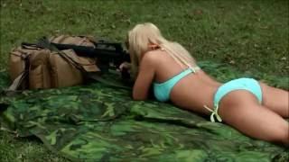 девушки с оружием(девушки с оружием, стреляют из автоматов и другого огнестрела., 2016-07-17T19:23:14.000Z)