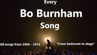 Repeat youtube video Bo Burnham (Ultimate Song Compilation) w/ Lyrics