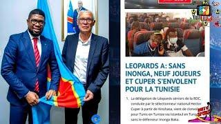 HECTOR CUPER A ENFIN SIGNE SON CONTRAT AVEC LA RDC AVANT DE S'ENVOLER VERS TUNIS AVEC LES ...