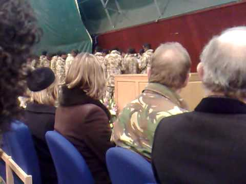 N.Ireland The Rifles Paying Tribute To Aminiasi Toge