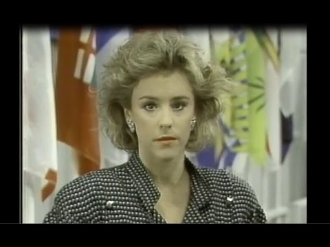 Wendy Mesley Reports on Meech Lake Scrap Between Brian Mulroney and Clyde Wells - CBC - 11/9/89