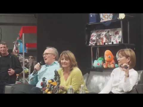 Interview and Q&A with Peter Davison, Sarah Sutton and Janet Fielding @ MCM Scotland 23/09/2017