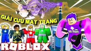 Roblox | KIA BECOMING SUPER HEROES YOU DELIVERING RESCUE the MOON-Heroes of Robloxia | Kia Breaking