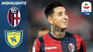 Bologna 3-0 Chievo | Pulgar Double Defeats Doomed Chievo | Serie A