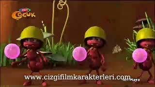 Arı Maya Çizgi Filmleri İzle - Arı Maya Karıncalarla Savaşçılık Oynuyor