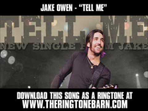 """JAKE OWEN  """"TELL ME"""" [ New Video + Lyrics + Download ]"""