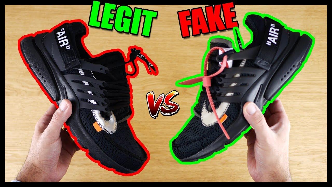 0 White 2 Legit Vs Ua Presto Originali Fake Off Fc3K1lJT