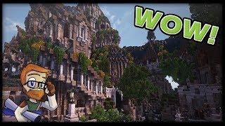 MOST AMAZING ELVEN MINECRAFT BUILDS :: Minecraft 1 10 2 Conquest Reforged YouTube