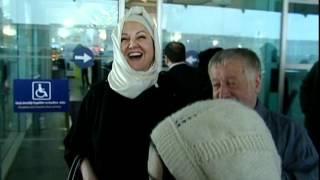 Ahmet PARLAK ikbal Gürpınar umre ziyareti öncesi havalimanı görüntüleri