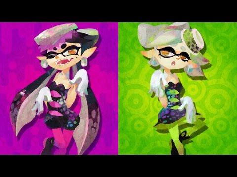 Animal Crossing New Leaf Wallpaper Splatoon Final Splatfest Team Callie Vs Team Marie