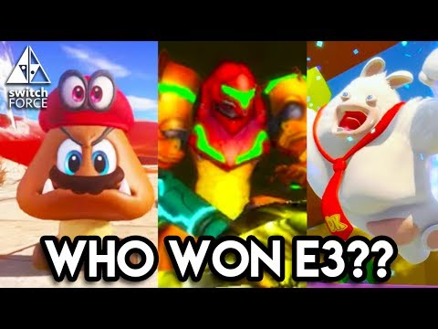 DID NINTENDO WIN E3 2017??? NEW Switch Games vs Xbox, PS4