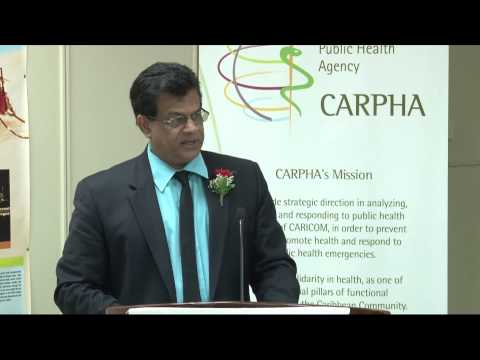Dr. Fuad Khan, Minister of Health, Trinidad and Tobago