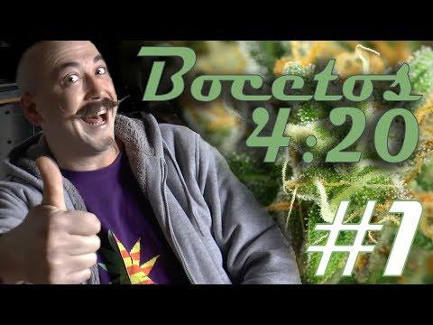 BOCETOS 420 #1 RAP Editorial en VIDEO con más flow ÁCIDO 420: El reto de rimar un porro de WEED