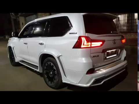 Спортивная выхлопная система с регулировкой звука на Lexus LX570
