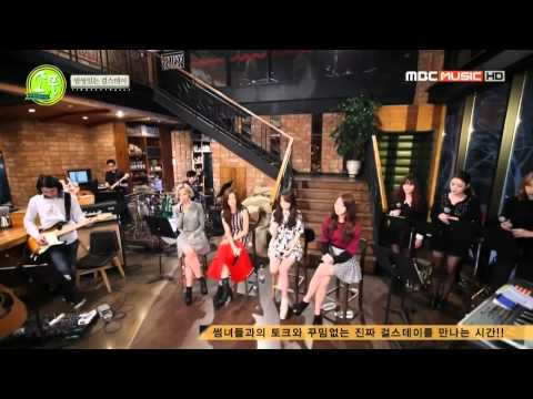 140227 Girl's Day - Expectation (acoustic ver.) @ Picnic Live