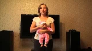 Как убрать воздух из желудка ребенка