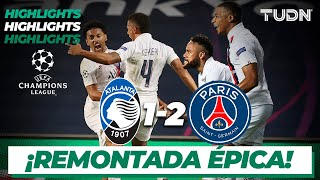 Highlights | Atalanta 1-2 Paris SG | Champions League 2020 - 4tos final | TUDN