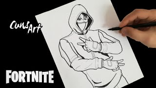 COMO DIBUJAR A IKONIK | FORTNITE | how to draw ikonik