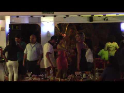 Late-Night Dancing At Bar Oceano Restaurant On The Malecon, Puerto Vallarta, Mexico (1/17) | #1