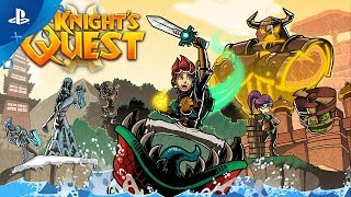 A Knight's Quest - Launch Trailer | PS4