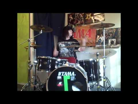 Asking Alexandria-Right Now (Na Na Na) (Drum Cover) (Akon Cover) 1080p HD