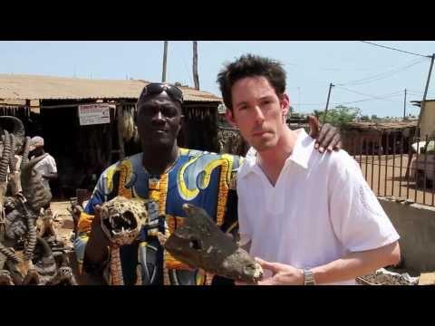 Wayne Hoffman Checkin' In - Voodoo Market in Africa (Akodessewa, Togo)