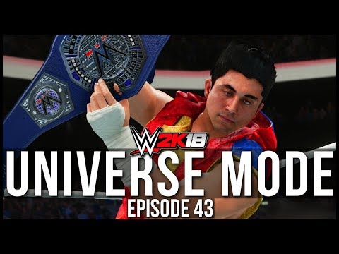 WWE 2K18 | Universe Mode - 'BATTLEGROUND PPV!' (PART 1) | #43