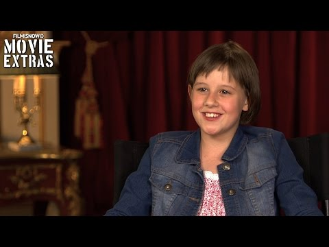 The BFG | On-set with Ruby Barnhill 'Sophie' [Interview]