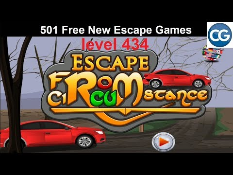 [Walkthrough] 501 Free New Escape Games Level 434 - Escape From Circumstance - Complete Game