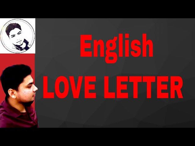 Love Letter to Girlfriend. Romantic Love Letter. Hard Touching  Love Letter. . Shadhin tv.