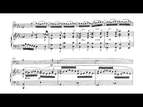 Louise Farrenc -  Cello Sonata in B Flat Major, Op.46: 2. Andante Sostenuto