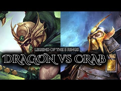 [Legend of the 5 Rings] Dragon & Crab Previews // + Crab Spo
