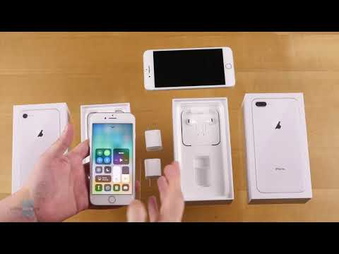 Apple IPhone 8 And IPhone 8 Plus Unboxing