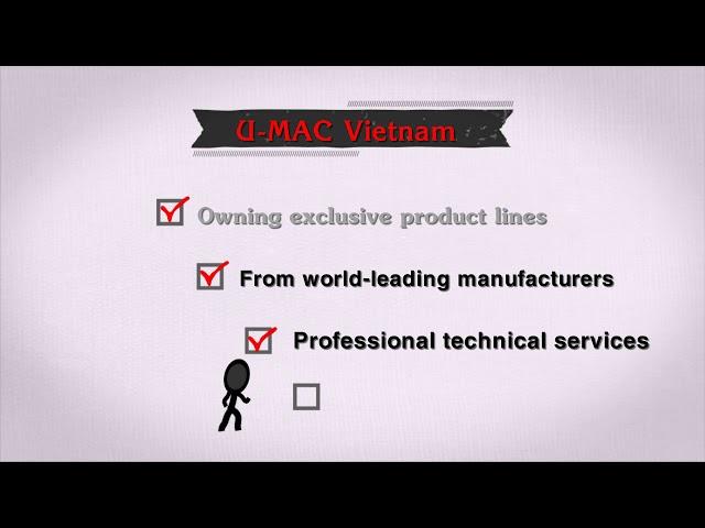 U-MAC Vietnam Co.,ltd - The leading supplier in sales and rentals of lifting equipment in Vietnam
