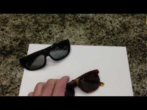 Adjustable Tint Sunglasses (New & Vintage) Polarized Lenses & Electronic Liquid Crystal