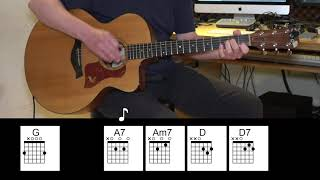 Desperado - Eagles - Acoustic Guitar - Chords
