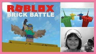 Divertimento que joga Roblox: batalha do tijolo   Toy Joy canal