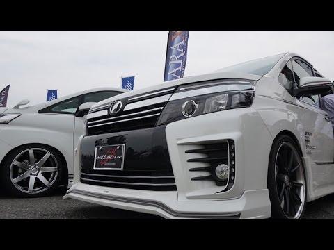 (4K)TOYOTA VOXY custom トヨタ・ヴォクシー - スーパーカーニバル2015