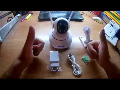 ESCAM G02 720P P2P WiFi IP Camera- GearBest (Greek)