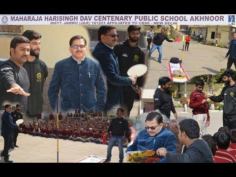 Speedball Game Introduced In D.A.V Public School Akhnoor Jammu || JK Speedball Media