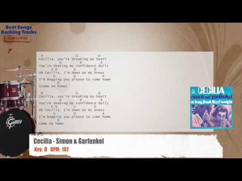 Best Songs Backing Tracks Bsbt Cecilia Simon Garfunkel Drums