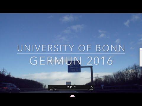GerMUN 2016 - University of Bonn
