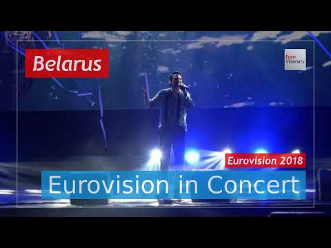 Belarus Eurovision 2018 Live: ALEKSEEV - Forever - Eurovision in Concert - Eurovision Song Contest