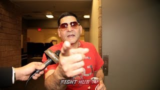 """ANGEL GARCIA """"WE NOT SCARED OF ANYONE AT 147! BUT PORTER FIGHT GOTTA BE RIGHT!"""""""