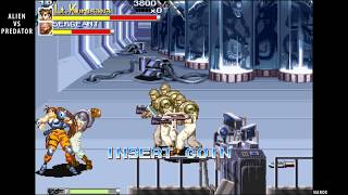 Alien vs. Predator - attract mode - arcade beat em up - 1994