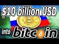 Russia Plans on Investing $450+ BILLION into Bitcoin (BTC)? Rumors or Truth?