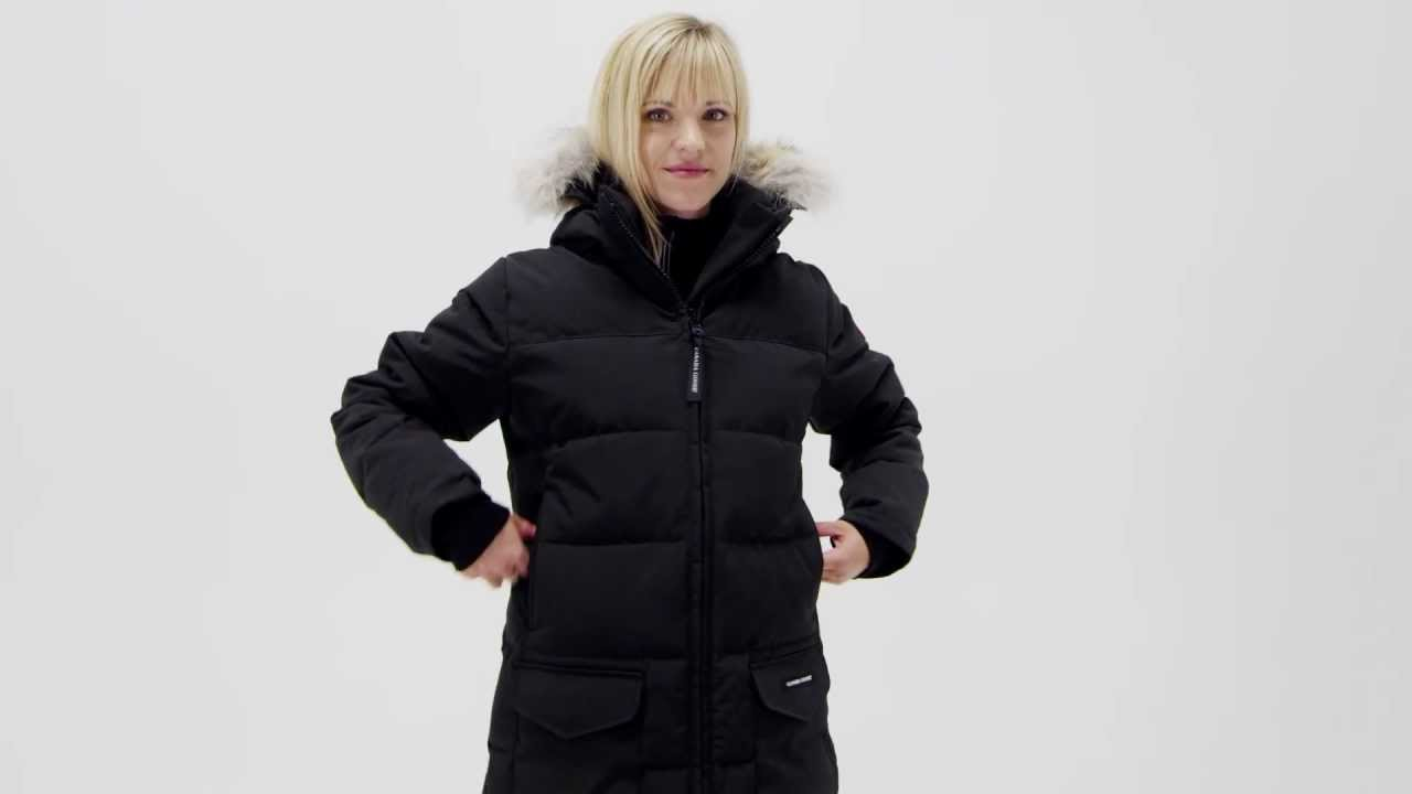Canada Goose Women s Solaris Parka - YouTube 70884cc389