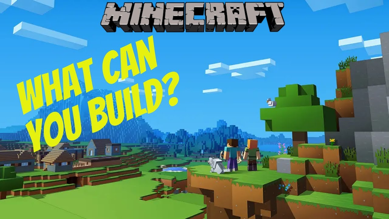 Building Ideas For Minecraft Creative Mode - YouTube